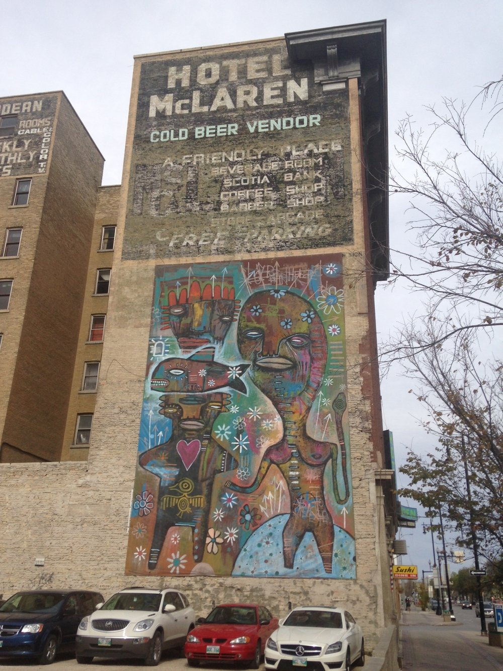It is fun to explore downtown and discover the ghost signs and murals.