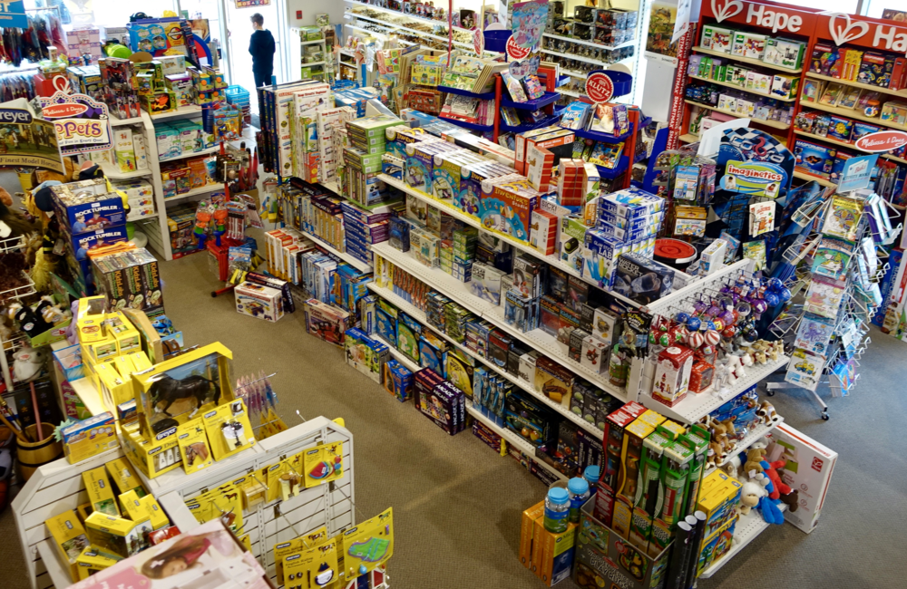 Castle Toys Calgary's premier toy store calls Manchester home.