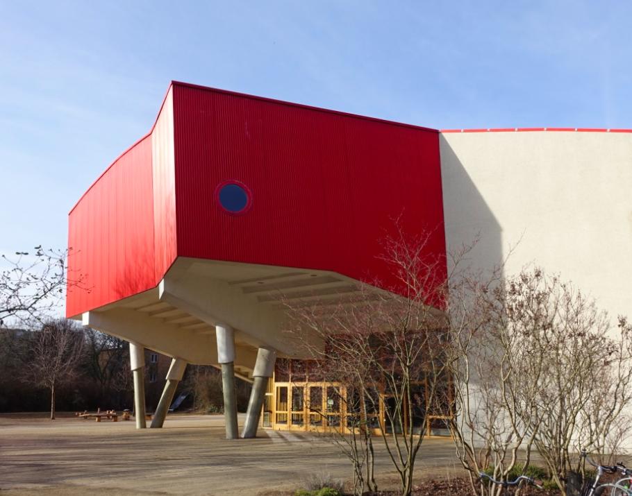 A school.