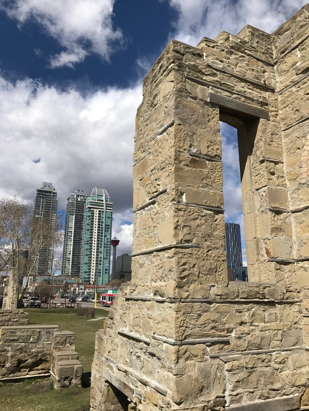 Victoria Park is one of Calgary's oldest communities.  Link: Victoria Park Ruins