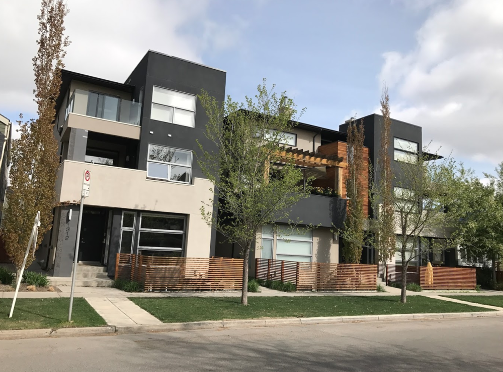 Trendy infill homes are popping up like dandelions in Calgary's inner city communities.