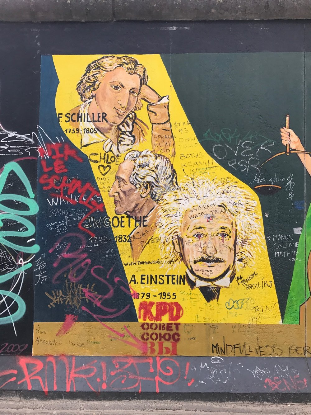 Berlin: East Side Gallery Gong Show — Everyday Tourist