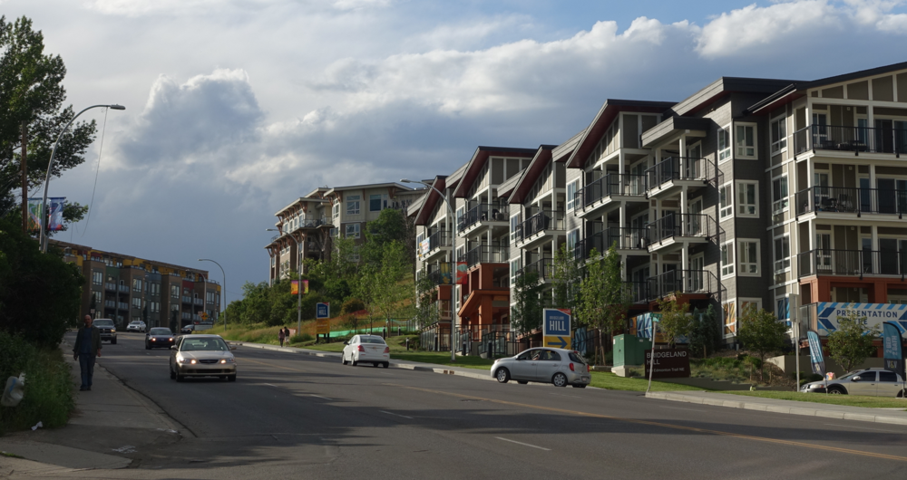 The Bridges has not only transformed the area around the old Calgary General Hospital into an urban village, but also Edmonton Trail has been revitalized with numerous new condo developments.