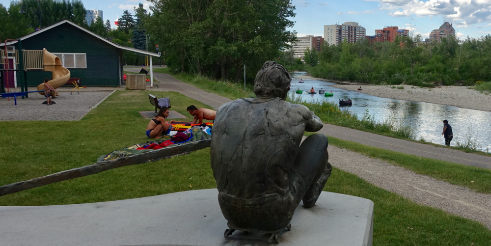 Calgarians sure do love their rivers.