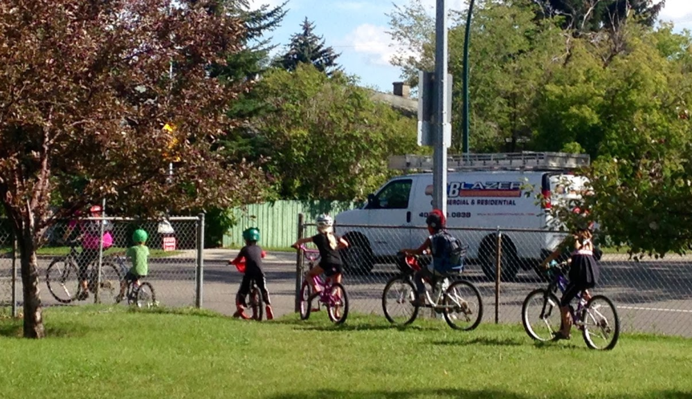 Calgarians of all ages love to cycle.