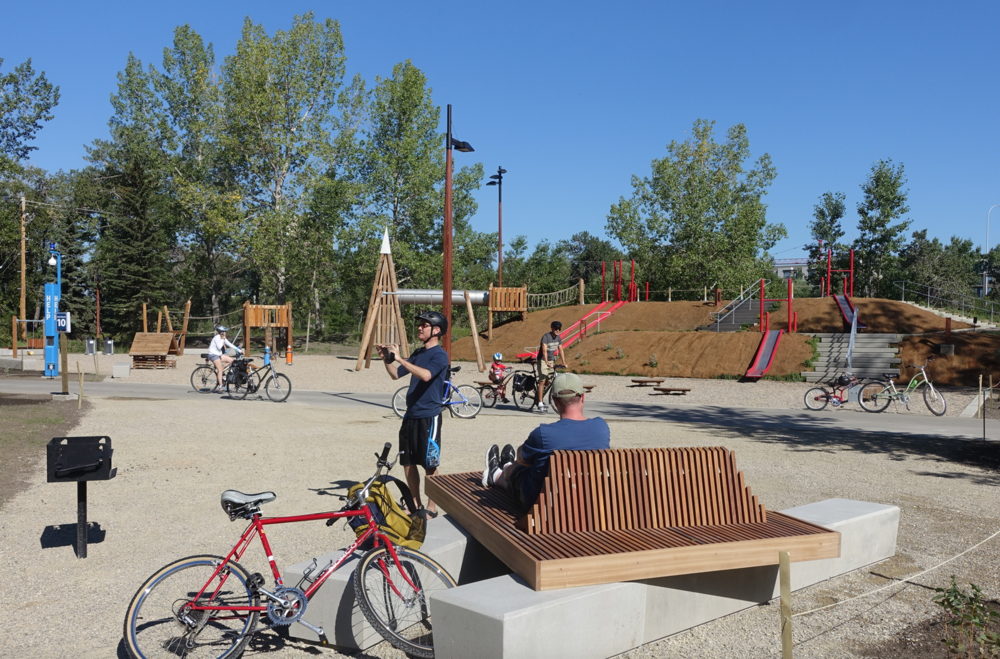 St. Patrick's Island has been transformed from an under utilized, almost forgotten park, into a wonderful urban playground for the growing number of families living in the City Centre.