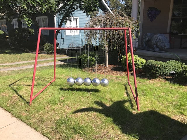 Quirky front yard art?
