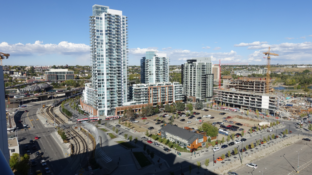 Calgary's East Village is in the middle of multi-billion dollar makeover to accommodate 10,000+ residents.