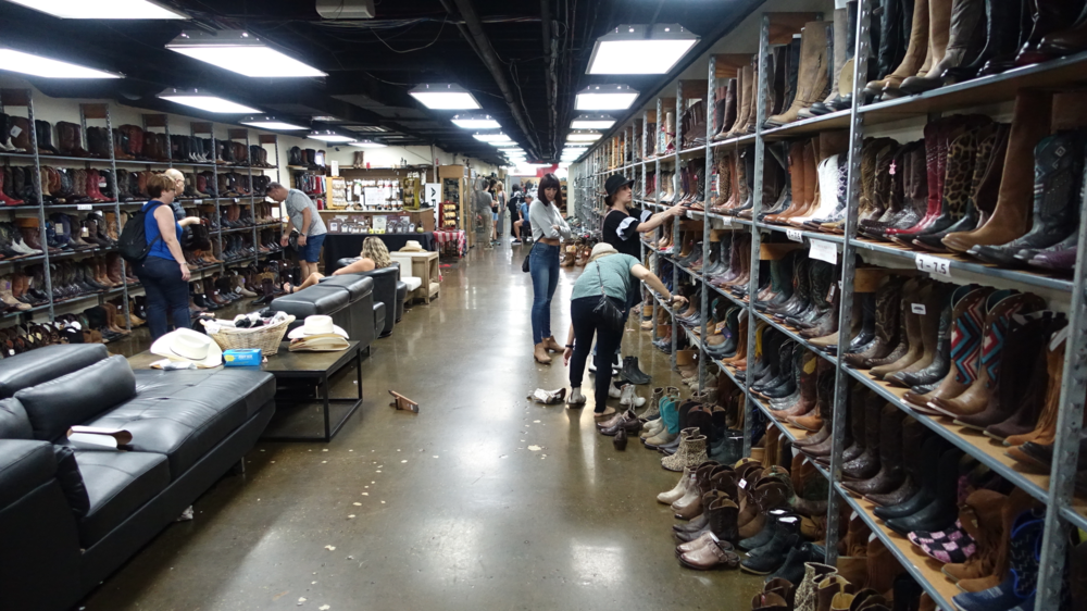 What Nashville does have is a plethora of cowboy boot stores like French's Shoes & Boots.