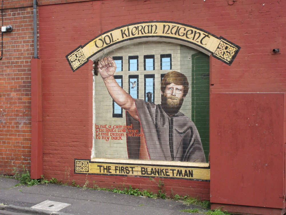 Murals can be very effective as reminders of a city's history.