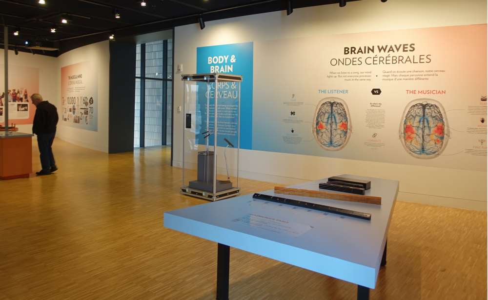An example of large exhibition space devoted to information that is easily accessible on the Internet.