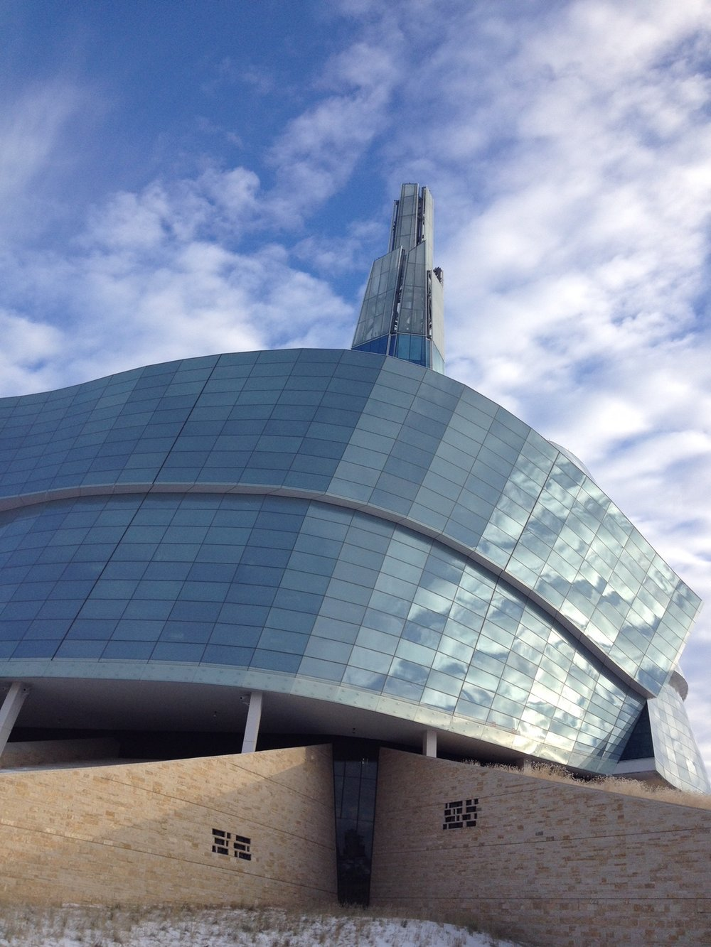 Canadian Human Rights Museum in Winnipeg.