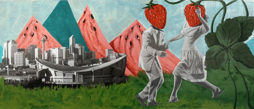 Strawberry Dancers / Watermelon Mountains, Calgary