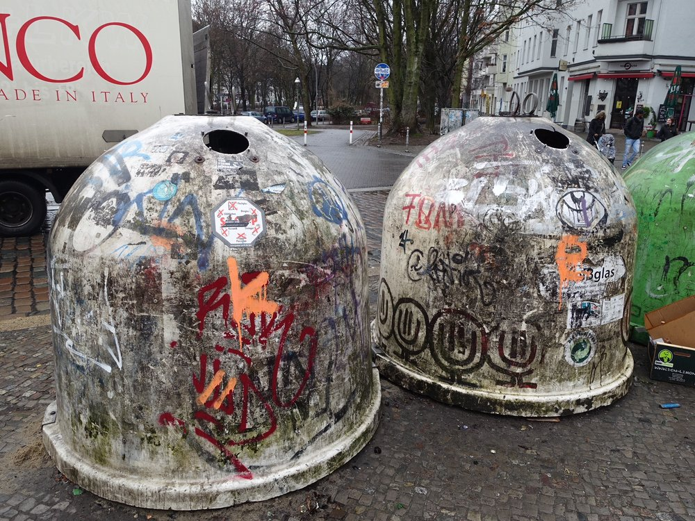 Recycling Igloos, Berlin