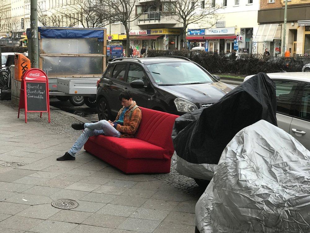 Street Furniture,Berlin