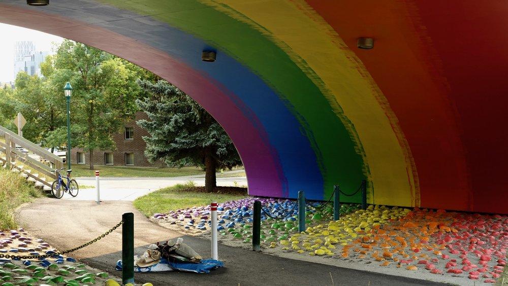 Rainbow, Calgary