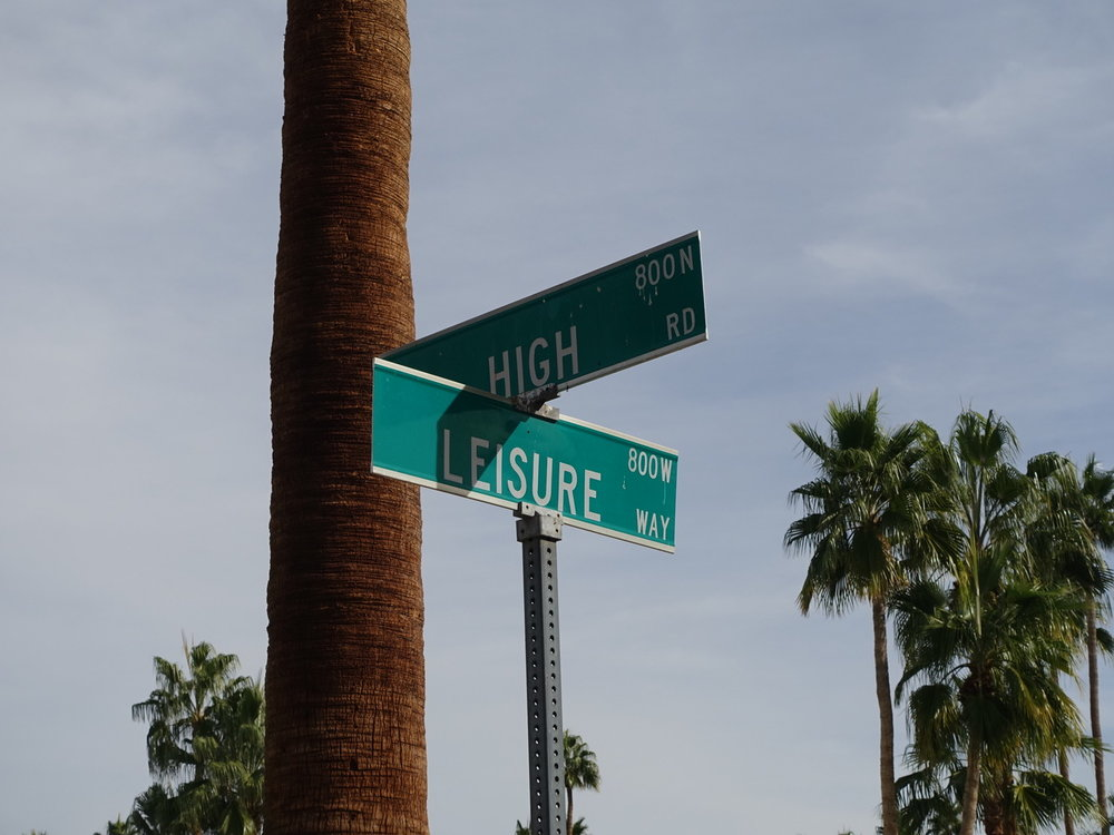 Corner,Palm Springs