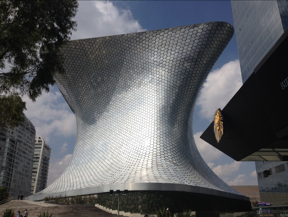 Museo Soumaya is an outstanding building inside and out.    Link: Museums of Mexico City