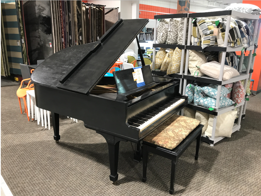 Imagine finding a grand piano at a thrift store.