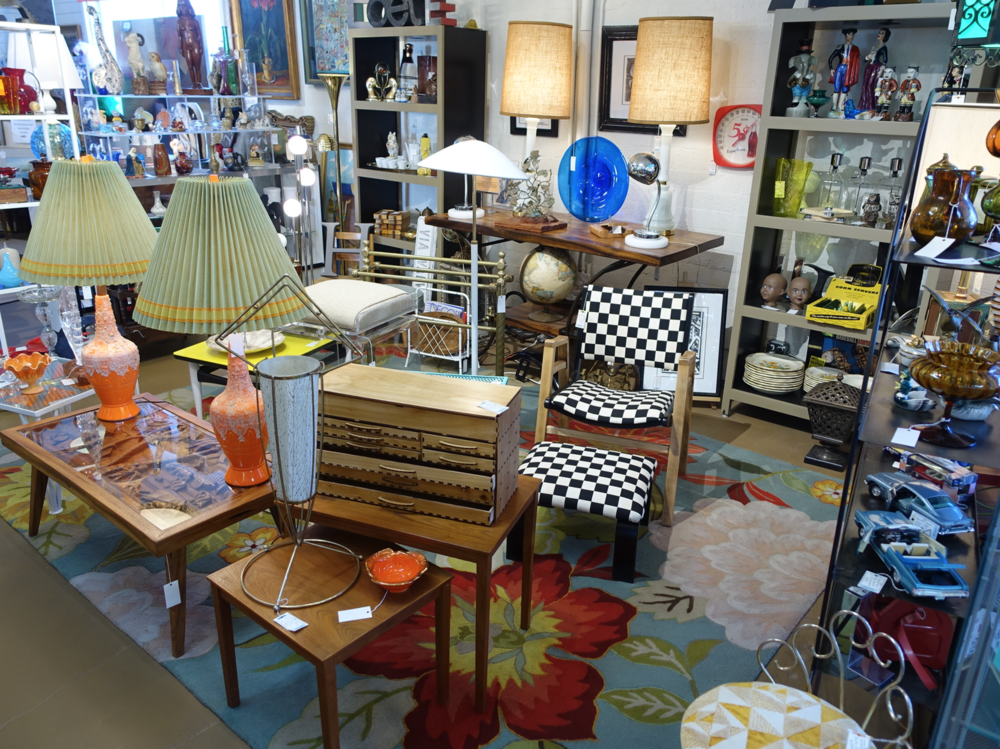 Antique Galleries Palm Springs is packed with treasures on two floors.