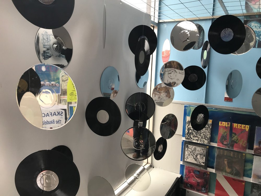 Dr. Disc was a great find...loved the fun display in the stairwell...be sure to leave some time to search the 3 for $1 records.