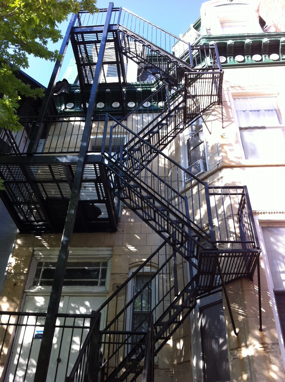 Backstairs, Montreal