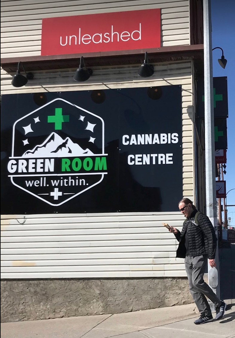 Cannabis Centre on 14th St. SW located between the South Calgary and Elbow Park communities.