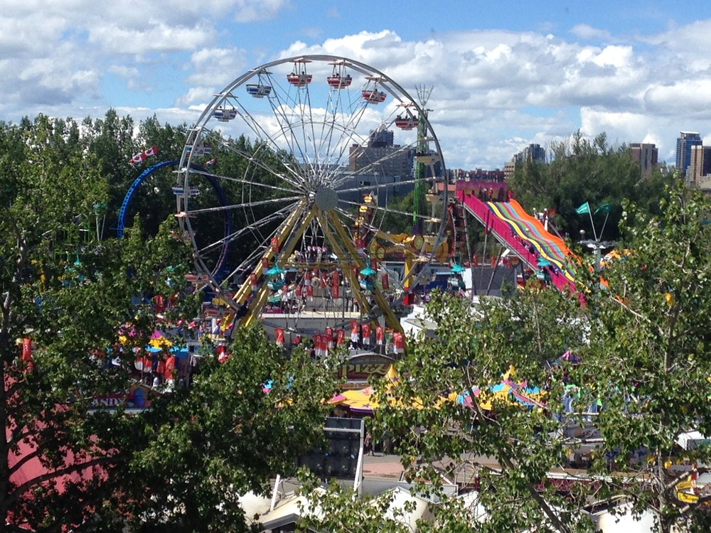 Calgary's Stampede Park is amazing public space during the 10 days of Stampede.  It is also home to numerous other major annual events.