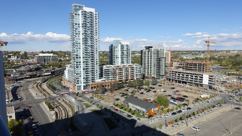 Calgary's East Village is a massive master-planned urban village project on the eastern edge of the downtown.
