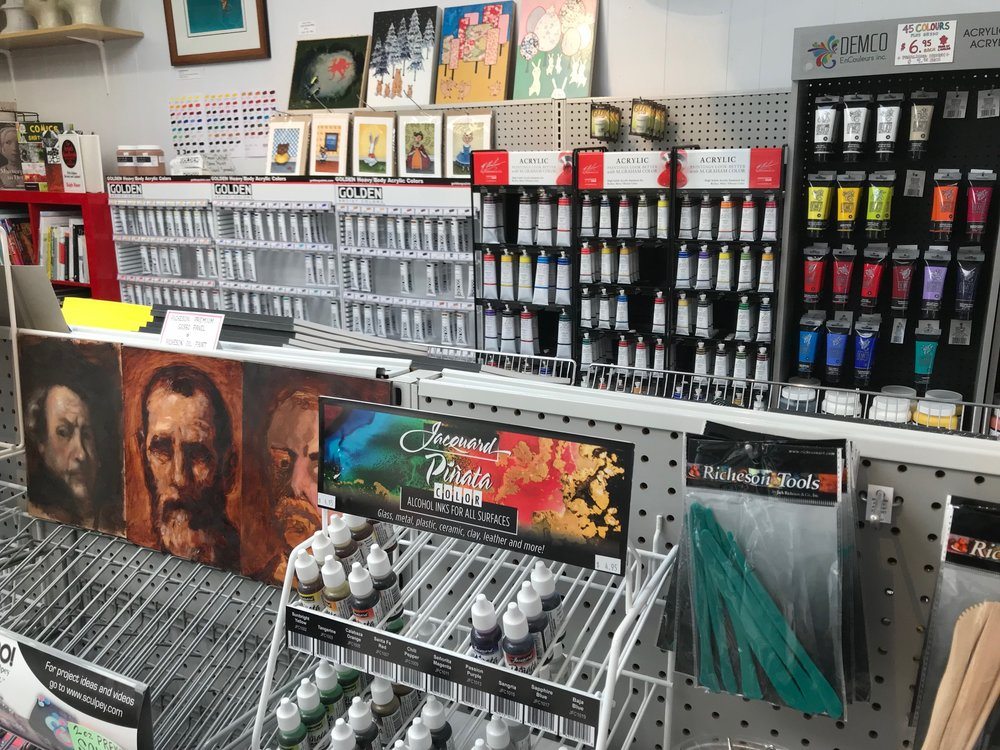 Sunnyside Art Supply is a quaint shop full of art supplies for budding and established artists. It has been serving Calgary's art community for over 50 years.