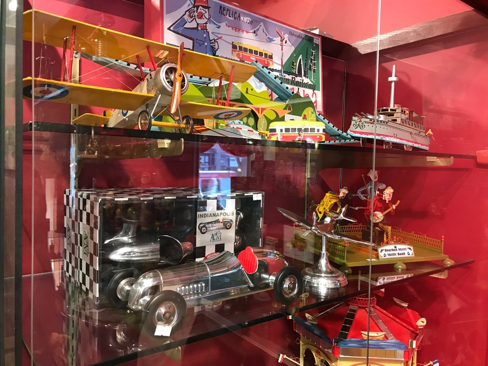 "Livingston Cavill Toys is packed with replica vintage toys and games, as well as modern ones. It is definite ""must see, must buy"" place."