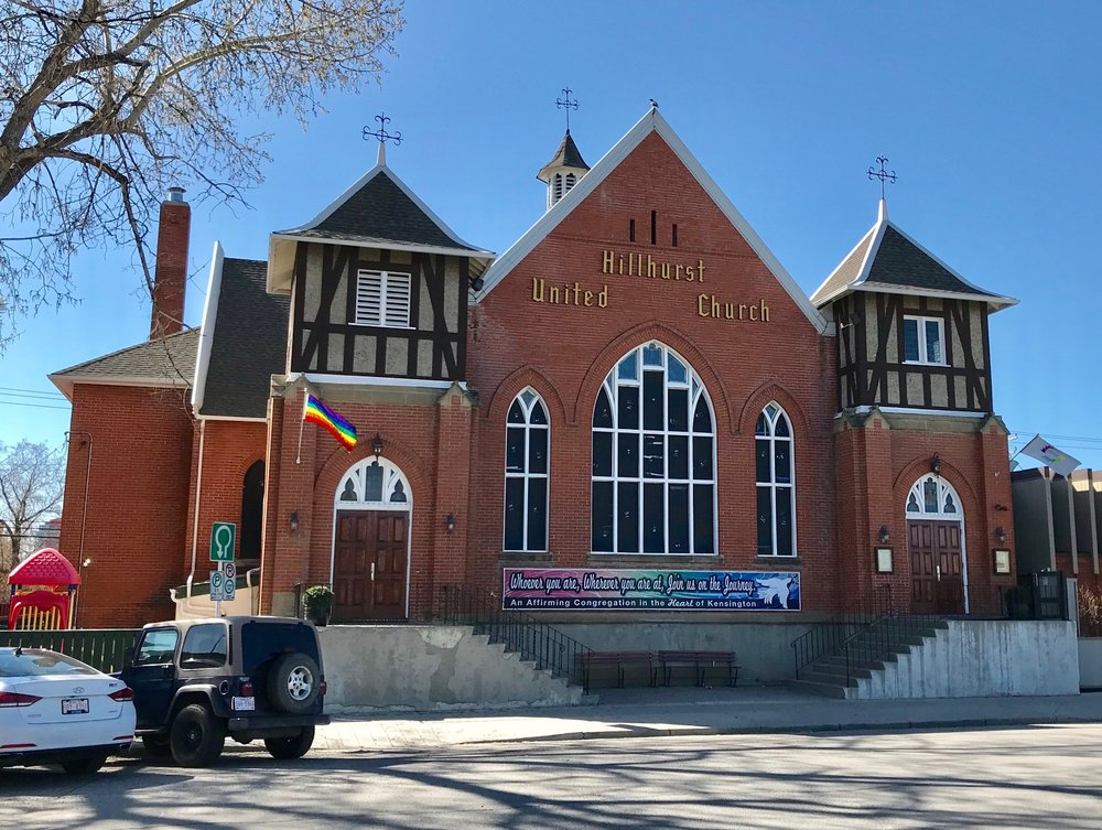Rumour has it the Hillhurst United Church pastor is considering converting their under-utlized gym into a micro-brewery.