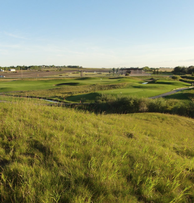 The Canal at Delacour Golf Course is perhaps the best links golf course in Western Canada and one of the top courses in Alberta.
