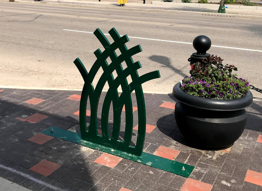 Bike rack or public art?