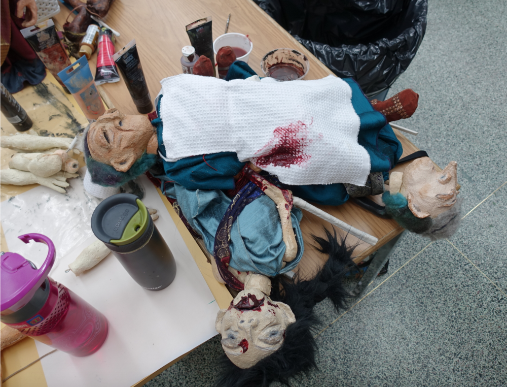 The Stumped Productions workshop on the UofS campus was a fun even if somewhat gory surprise.