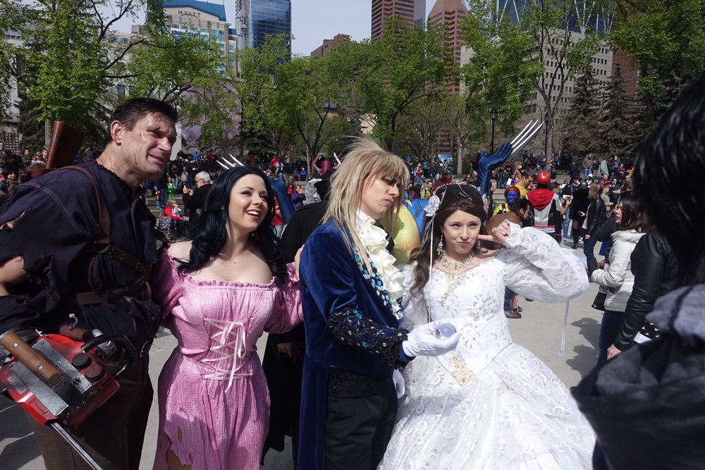 Calgary hosts one of the biggest and best cosplay festivals in Canada.