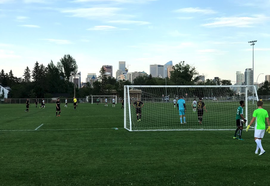 The Bowview field is one of the best soccer field in the city and attracts some of the best soccer players in the city.