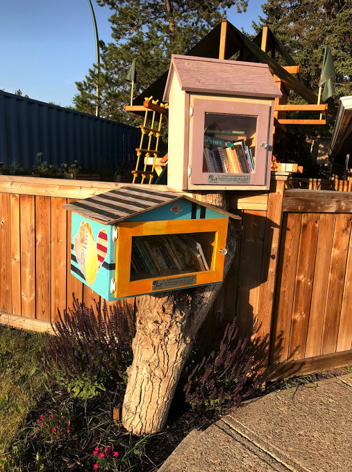 We have lots of little libraries.