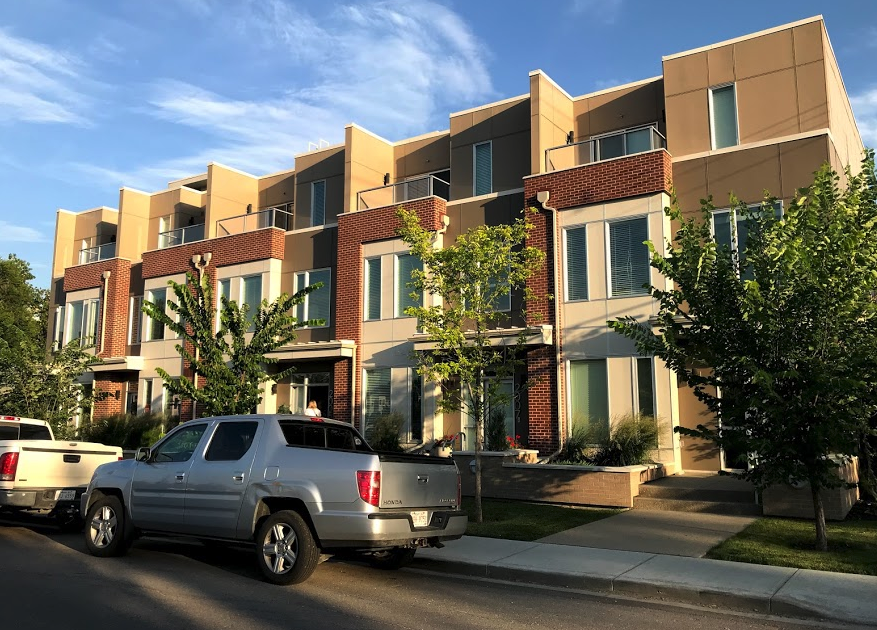 New townhomes.