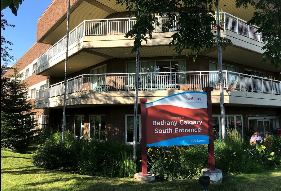 The mega Bethany Care Centre is located at the NE edge of the neighbourhood.