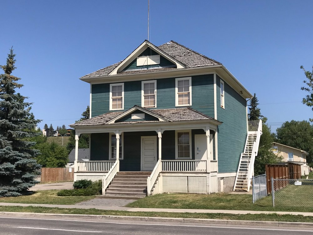 The Grand Trunk School built in 1911 is one of the oldest buildings in Calgary outside of the downtown.