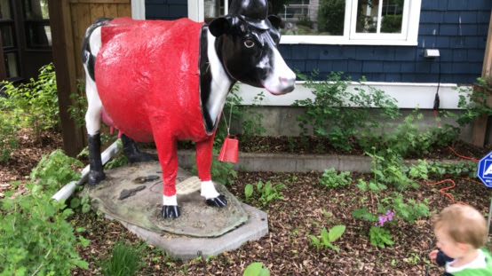 We also have a cow from the Udderly Art project.