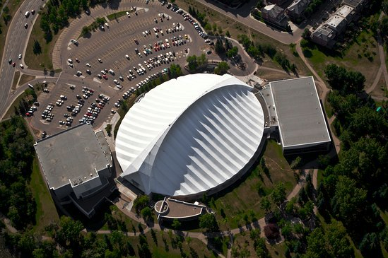 Repsol Sport Centre is one of Calgary's architectural gems.
