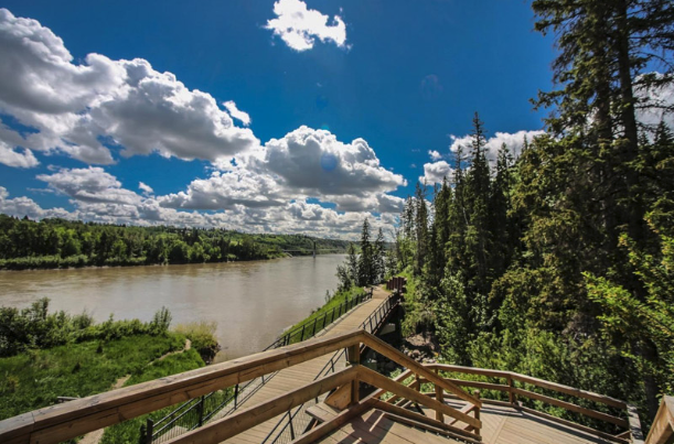 Edmonton's North Saskatchwan River Vallery is a place to escape from the city.