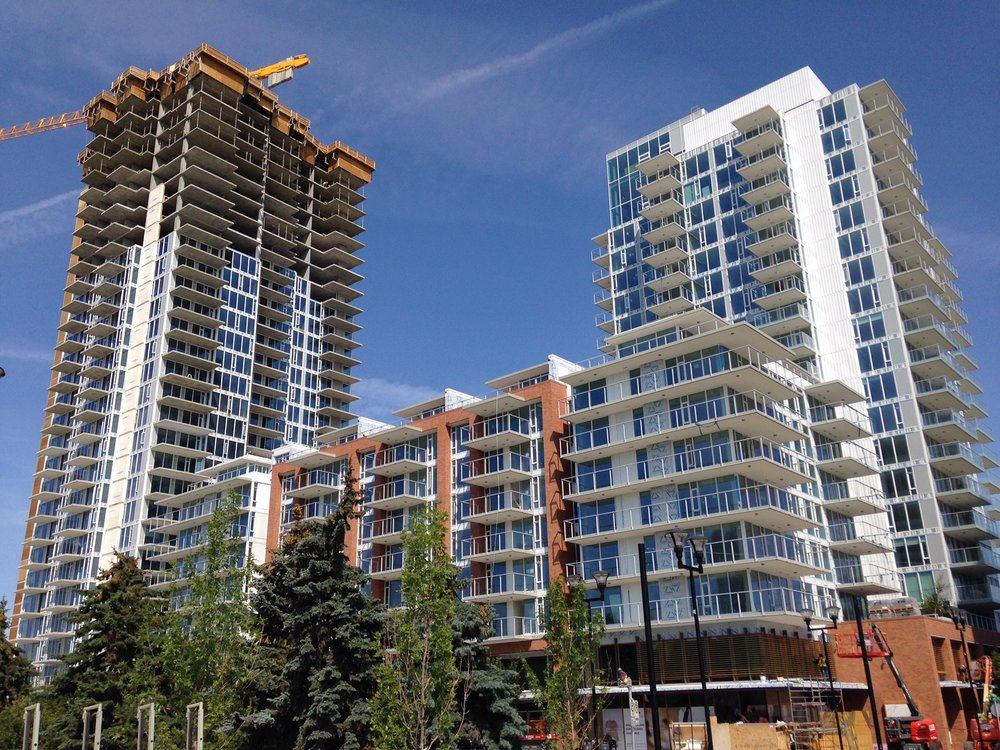 Calgary's East Village project will add 10,000+ new residents to the downtown over the next 10 years.