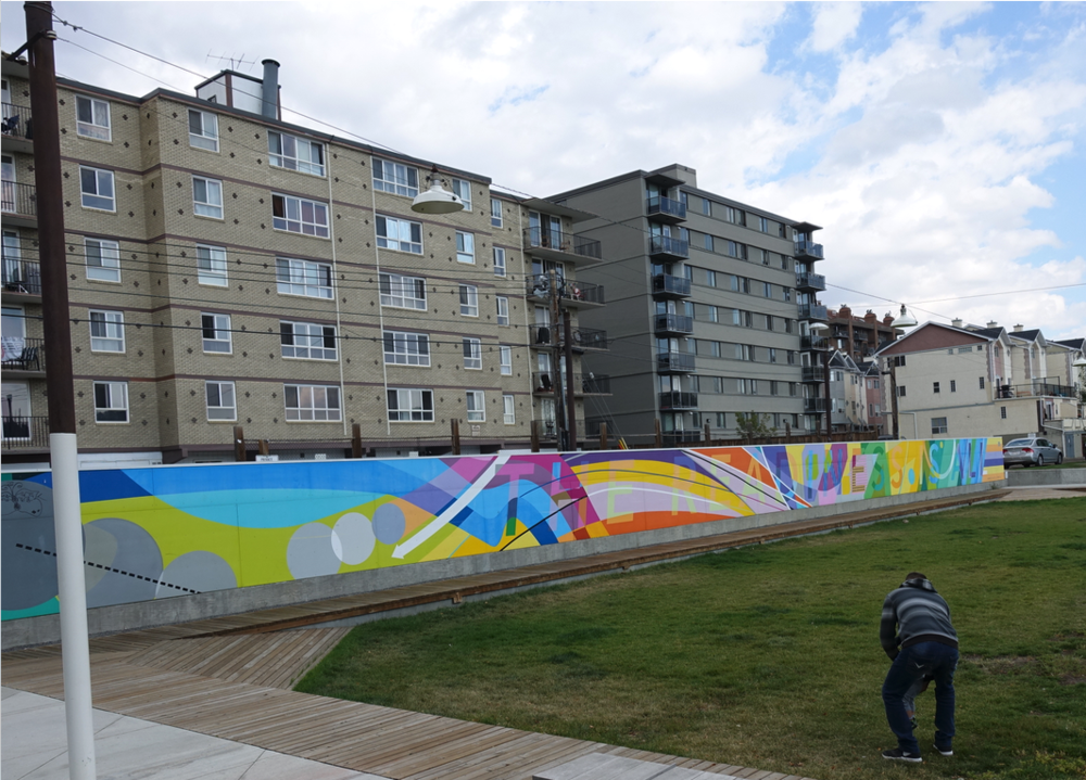 "In the relatively new Thompson Family Park there is a decorative mural with the words ""The Readiness is All"" embedded in it. The phrase comes from Shakespeare's Hamlet where Hamlet debates the meaning of life…."