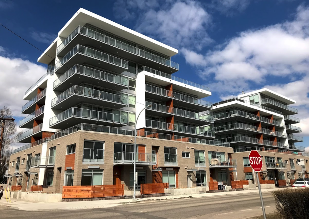 Ezra on Riley Park is now completed and is expanding Kensington's urban living west towards 14th St. SW  .