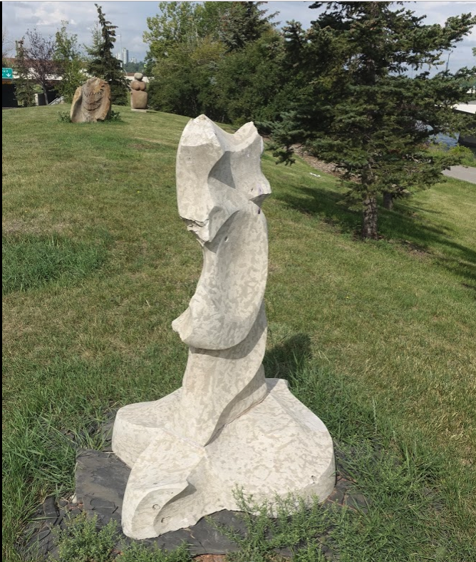 Bet you have never heard of the The Nat Christie Park or that it is home to The Stone Sculptor Guild of North America's small art park with several intimate stone sculptures.