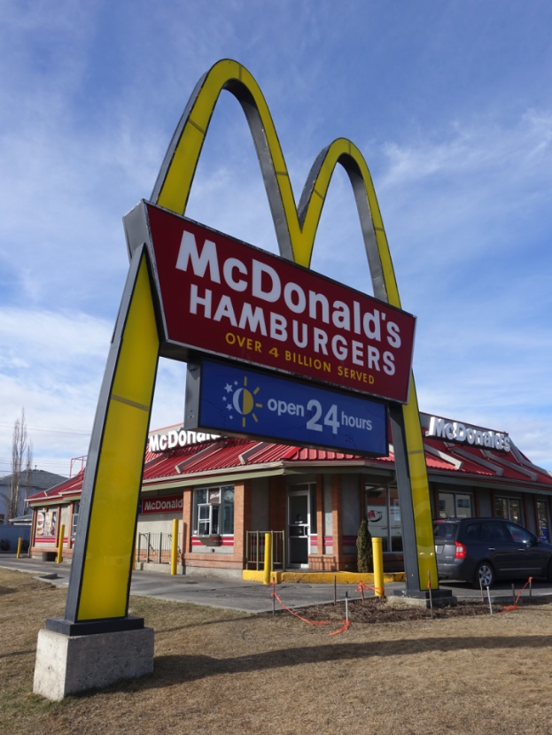 Did you know that 4th St NW is the site of Calgary's first McDonald's?