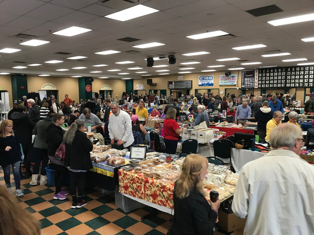Halifax's Sunday Flea Market at the old Forum, is very similar to Calgary's Hillhurst/Sunnyside Flea Market also on Sunday.